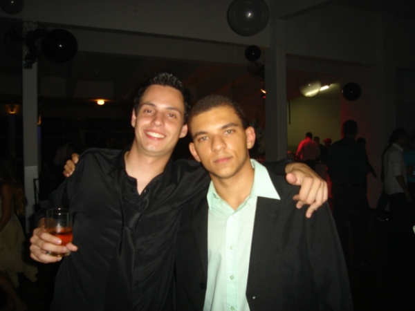 Rafael - vulgo Fred (???) - e eu