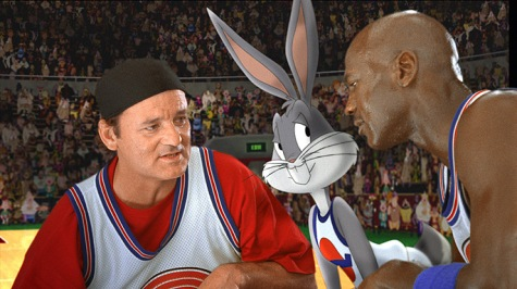 bill murray, pernalonga e michael jordan