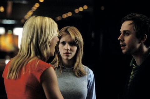 Anna Faris, Scarlett Johansson e Giovanni Ribisi