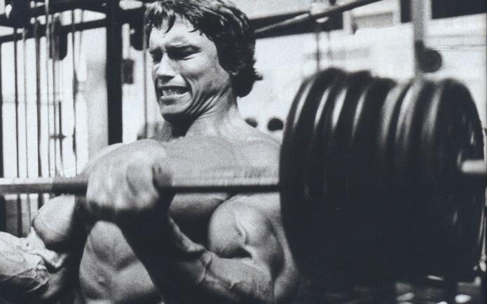 Arnold 38 anos atrás.