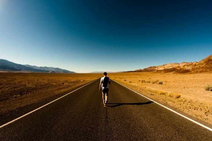 andando na estrada